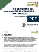 Analisis de Costos, Aplicacion de Voladura Controlada; Chsmsac