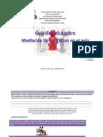 Guía didáctica sobre mediación de conflictos en el aula