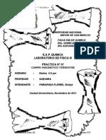 laBO DE FISICA 3Informe Nº07 - Campo Magnetico Terrestre (1).doc