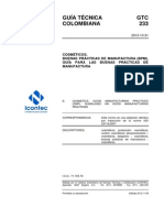 Gtc233 Ntc Iso 22716 Cosméticos
