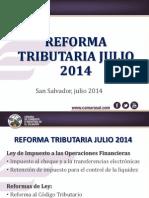 Reforma Tributaria Julio 2014