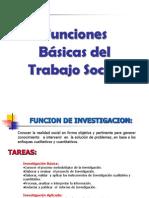 FUNCIONES DEL TRABAJADOR SOCIAL