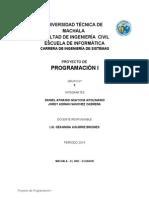 Proyecto Final Programación 1