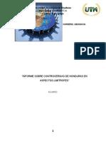 Controversias de Honduras en Aspectos limitrofes.doc