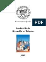 Cuadernillo UNS 2015 Quimica