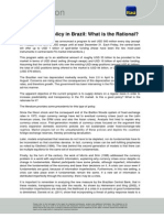 Intervention Policy in Brazil, What is the Rationale