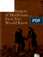 The Dangers of Marihuana... Facts You Should Know