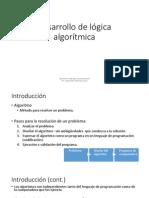 Desarrollo de Lógica Algorítmica