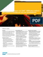 Mejore sus compras con SAP® SRM para reducir los costos y coolaborar con los proveedores