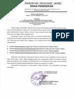 Beasiswa Pemprov Jambi S2-S3 2015