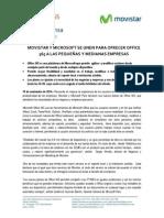 141114 Movistar y Microsoft Lanza Office 365 Dirigido a Empresas