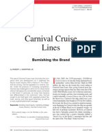 Carnival Cruise Lines Burnishin the Brand CHR