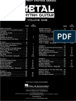 Troy Stetina - Metal Rhythm Guitar Volume 1