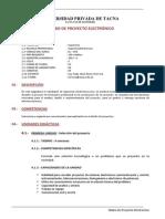 EL-053 Proyecto Electronico 2014.I