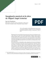 Imaginario musical en la obra de Miguel Ángel Asturias1