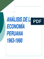 Modelo Economía Peruana 1960-1990