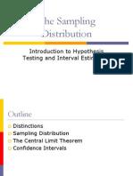 The Sampling Distribution