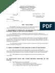PracticeCourt Pleading-Pre-trial Brief Format