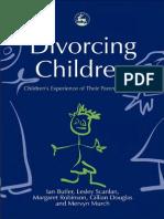 BUTLER, Ian. Divorcing Children.pdf