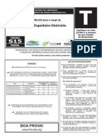 Funcab 2014 Prodam Am Engenharia Eletrica Prova