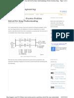 Per Unit System Practice Problem Solved Transformers