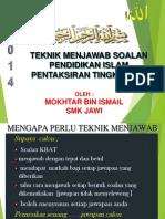 Teknik Menjawab Pt3 (2014)