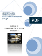 Manual de Configuracion de Una Red