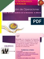 Expo 2 Analisis de La Demanda y Oferta