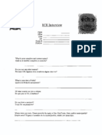 Frederick County (Maryland) Sheriff's Office - ICE 287(g) Interview Form