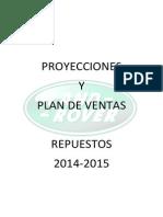 Proyección plan de venta