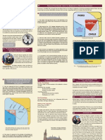 Triptico Informativo Peru La Haya Version Ingles