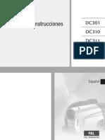 Manual Videocamara DC311