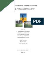 laporan proposal kegiatan wirausaha futsal