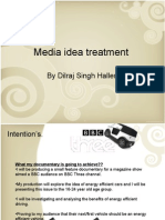 Media Idea Treatment