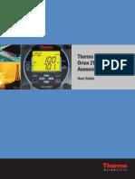 Ammonia Analyser User Manual