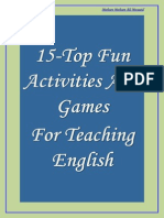 15-Top Fun Activities and Games for Teaching English