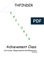 explorer class requirements