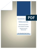 Yair Diaz Articulo Sintesis Interpretativa Gestion Educativa
