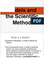 models and the scientific method