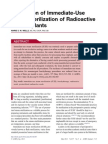 AORN Journal Volume 97 issue 5 2013 [doi 10.1016%2Fj.aorn.2013.02.005] Wells, Marie S.W. -- Elimination of Immediate-Use Steam Sterilization of Radioactive Seed Implants.pdf