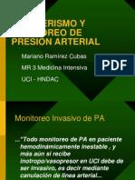Cateterismo y Monitoreo de Presion Arterial