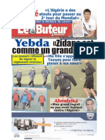 LE BUTEUR PDF du 03/01/2010