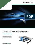 Acuity Led 1600 Product Brochure