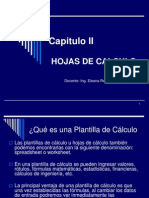 Capitulo II_Hojas de Cálculo