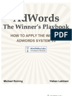 AdWords Winners PlayBook