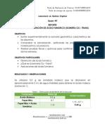 Reporte Práctica 9 - Obtención de Ácido Fumárico (Isomería Cis - Trans)