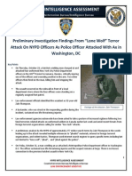 NYPD Intelligence Assessment - Hatchet-Wielding Jihadi