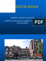 Apendicitis Aguda. Dr.h.chavez
