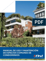 Manual de Uso y Mantencion de Espacios Comunes de Condominios CChC