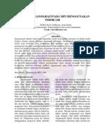 Aplikasi Steganografi Pada Mp3 Menggunakan